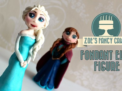 Frozen Elsa cake How to make elsa doll cake disney frozen elsa cake topper tutorial fondant elsa