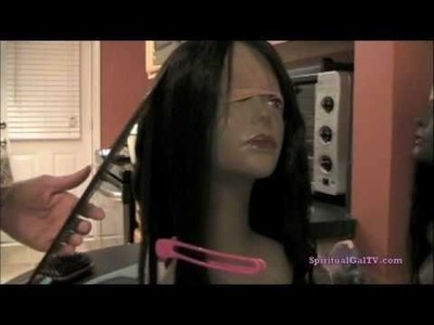 Full Lace Wig Flat Ironing (Bestlacewigs.com)