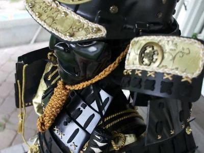 Home made Yoroi Samurai Armor