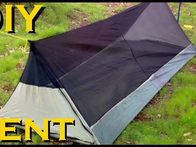 Homemade Ultra Lightweight Bivy Tent For Backpacking