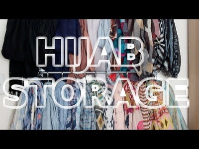 How I Store My Hijabs