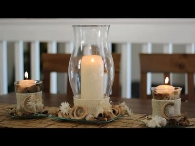 How to Decorate Glass Votive Holders : Decorations for the House