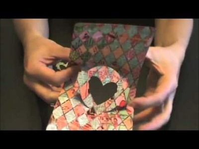 How to do Pop Up Card w Window using Sizzix Pop N' Cuts