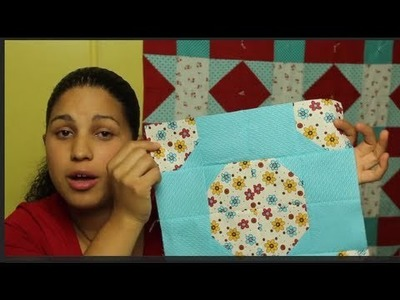 How to make a Bow Tie Quilt Block- Block#1 of 12- Video Quilt Along