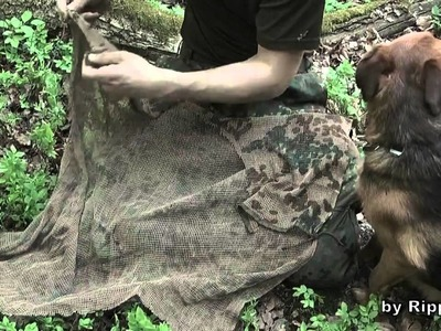 How to make a Ghillie Cape