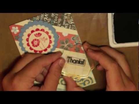 How to Make a Paper Scrap Card