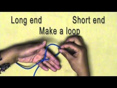 How to make a Simple Slip Knot