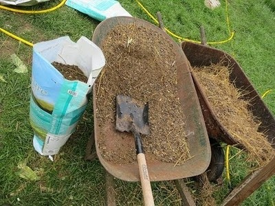 How to make easy money with rabbit manure