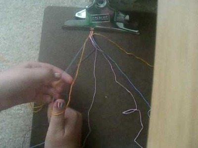 How to Make Friendship Bracelets: The Cris Cross