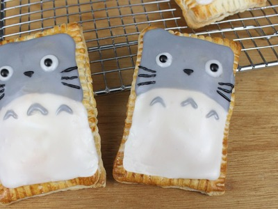 How to Make Totoro Poptarts!