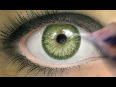 How to Paint a Realistic Eye [Coloring Tutorial]