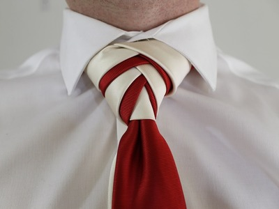 How To Tie a Tie  Double Eldredge Knot
