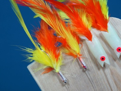 How To Tie Mackerel Feather Rigs, Hokkai Sea Fishing Lures
