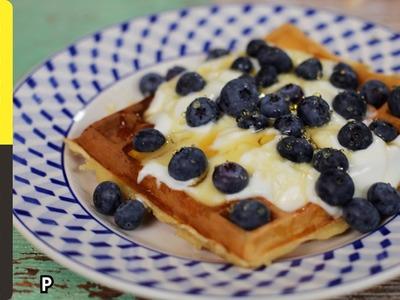 Kerryann's Brilliant Breakfast Waffles