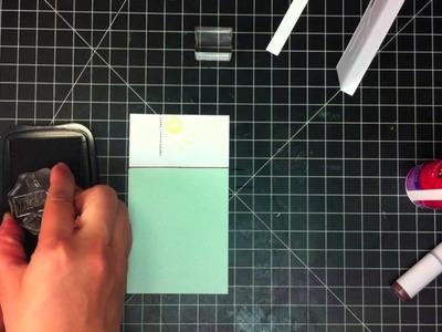 Lawn Fawn Masculine Card Tutorial