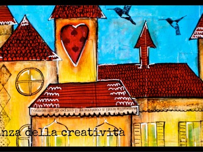 Mixed Media Art: Venice in my heart