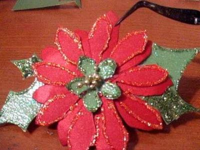 MY Poinsetta Flower Part II