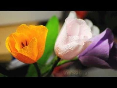 Paper flowers (part 1)