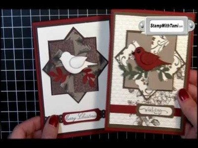Paper Pinwheel Technique featuring Stampin' Up! products