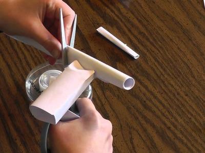 Paper Rubber Band Gun