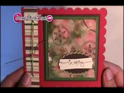 Polished Stone Season of Joy Card w. Book binding