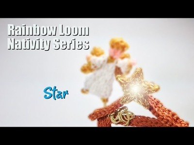 Rainbow Loom Nativity Series: The Star of Bethlehem