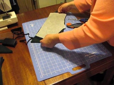 Sewing kids Sweat Pants from Adult Sweat Shirt how to 1
