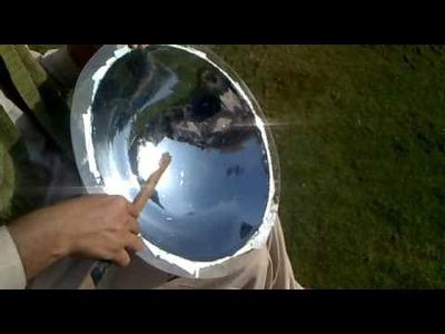 "SOLAR PARABOLIC MIRROR 18 "" ACRYLIC (MAJESTIC PAKISTAN)"