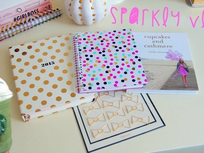 Sparkly Vlog - Fall Decorating, Shopping At Target, New Kate Spade Planner & Pumpkins