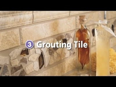 Step 3 - How to Grout Your Tile or Stone