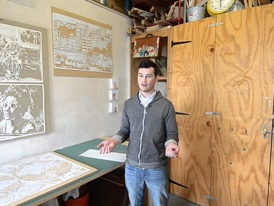 Thomas Witte: Paper cut artist
