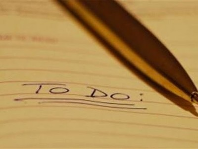 Top tips for writing an action plan