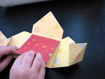 Triangle fold Card better