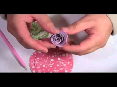 Try It Thursday - Rolled Paper Flowers