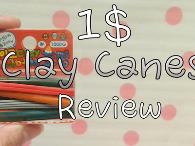 1$ Polymer clay canes Review! {Clay.CraftyMints}