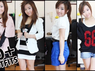 40 Outfits in 3 minutes