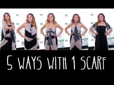 5 Ways to Wear 1 Scarf