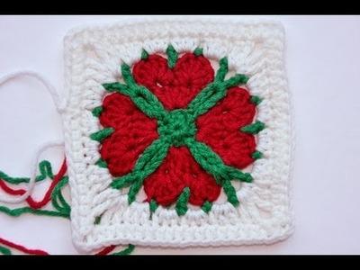 Advent Calendar * December 24 * Granny Square