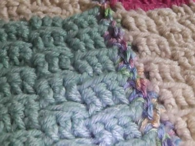 Basket Weave Blanket part 1
