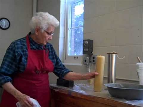 Benet Frandrup Making Candles.wmv