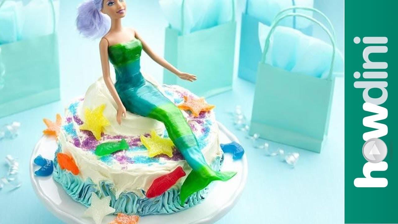 Birthday Cake Ideas: Easy Mermaid Birthday Cake