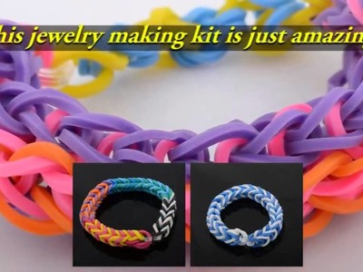 Bracelet Making Kit - Rubber Band Jewelry Maker Set Launched