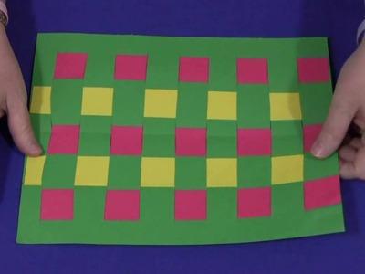 Construction Paper Weaving