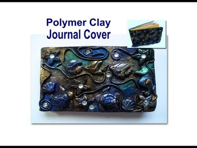 DIY: How To Make a Polymer Clay Journal Cover