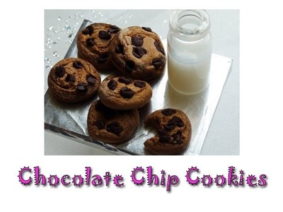 DIY: How To Make Chocolate Chip Cookies With Polymer Clay