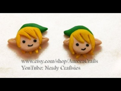 DIY Link Legend of Zelda Polymer Clay Tutorial. Arcilla Polimérica