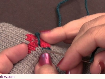 Embroidery: How to do the Back Stitch