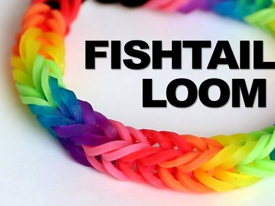 Fishtail Loom Bracelet - Tutorial || Rainbow Loom