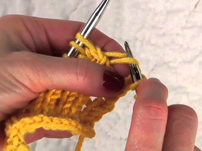 Fixing a Dropped Yarn Over
