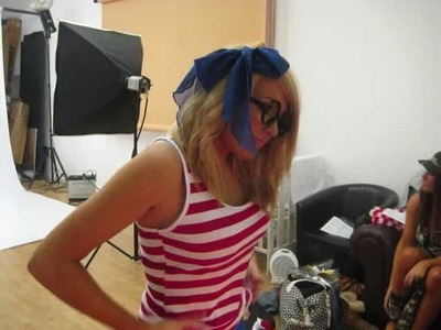 Girly Night Out Behind the Scenes: Where's Wally Photoshoot
